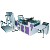 Air bubble film bag making machine