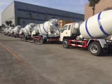 New Concrete mixer truck order