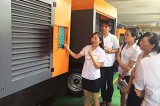 DENAIR diesel portable air compressor operation training