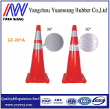 China Factory Colour Orange Yellow PVC Traffic Road Safety Cone