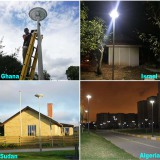 Sresky Solar Plaza Light Series Project & Case