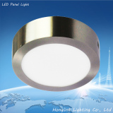 6w 12w 15w round and square surface mounting led panel ceiling light