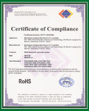 Rohs certificate for MS3391-C