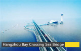 Hangzhou bay sea-crossing bridge, China