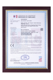 Kingred′s CE certificate of CNC wire cut EDM