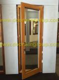Solid Wood Aluminum French Door