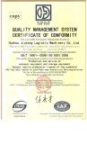 Quality Management Syetem Certificate