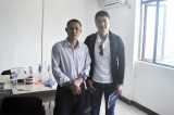Mongolia customer visited Shine Dew