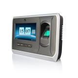 Fingerprint time attendance system with TFT 4.3 touch screen and camera UT-90