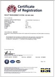 Quality Management System - ISO9001: 2008