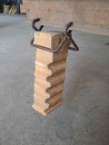 Anchor for refractory bricks