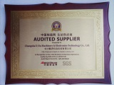 Made in China Gold Autid Supplier certificate