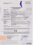 CE Certificate for Roll Cutting Machine
