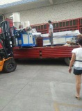 Machine container loading 3