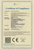 CE Certificate EMC for Energy Saving Lamp