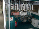 Automatic inverted gland packing braided machine