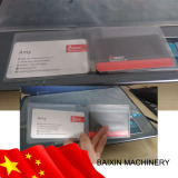 PVC card Bag making machine