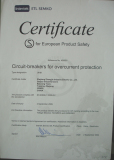 UKB1 MCB Semko Certificate