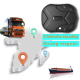 waterproof IP 66 vehicle GPS Tracker truck person 60 days long standby time powerful magnet lifetime