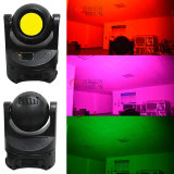 Stage 100W LED RGBW 4IN1 COB wash moving head infinite rotating light