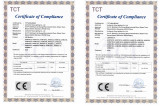 CE Certificate for LED Modules
