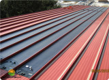 PVL Flexible solar laminate for standing seam metal roofing system