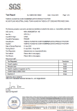 Silicone Certificate