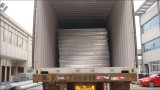 cable tray packed in container