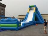 Inflatable huge water slide