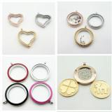 Fashion stainless steel locket pendant