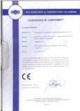 CE Certification of Labeling Machine