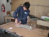 Carbon fiber products workshop
