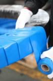 Plastic belt packing