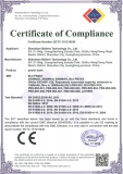CE EMC certificated of portable power bank