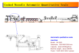 Cooked Nooodle Automatic Quantitative Scale