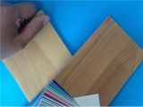 wooden pvc flooring for indoor sports court, home use
