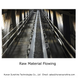 Raw Material Flowing in