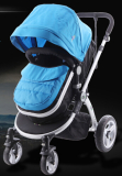Blue High Landscape stroller
