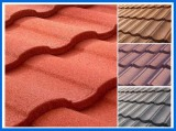Hot Sale in Turkey Stone Coated Metal Roof Tile