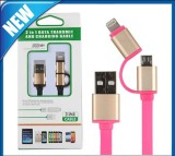 2in 1 Charging Sync Data USB Cable for iPhone 6