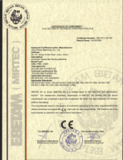 CE Certificate for SBM