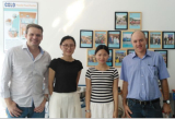 Clients from Brizal visit our factory