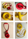 Dog rope interactive toys