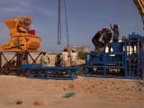 ZCJK BLOCK MAKING MACHINE INSTALLATION in YEMEN