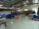 sleeping bag packing room