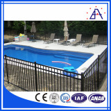 Aluminum fence for swimming pool