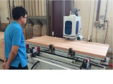 CNC MACHINE FOR SOLID WOOD DOOR LOCK OPENING AND HINGE MACHINE
