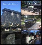 Haobo Stone Emeraled pearl granite monument