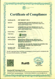 RoHs Certificate for LED Neon Flex