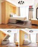 Multifunctional foldaway bed